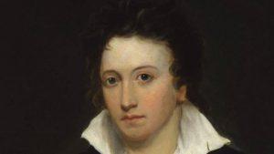 Percy Bysshe Shelley.