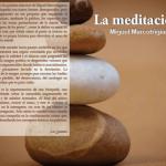 La meditación de Miguel Marcotrigiano.
