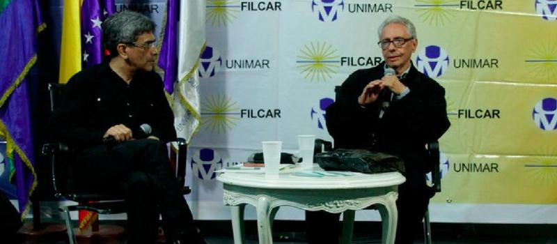 José Balza. Filcar 2018.