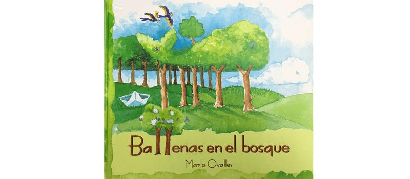 Ballenas en el bosque por Marlo Ovalles.