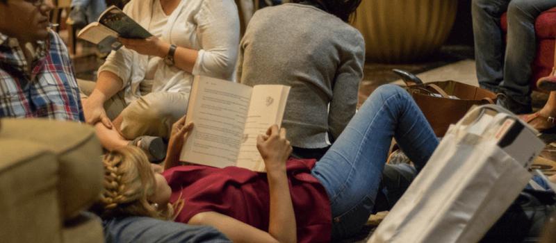 Silent Reading Party. Caracas