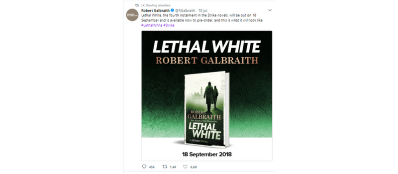 Blanco letal de Robert Galbraith