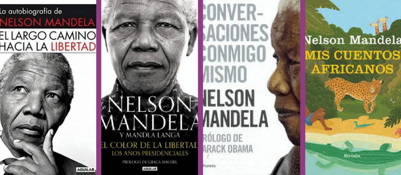 Libros de Nelson Mandela