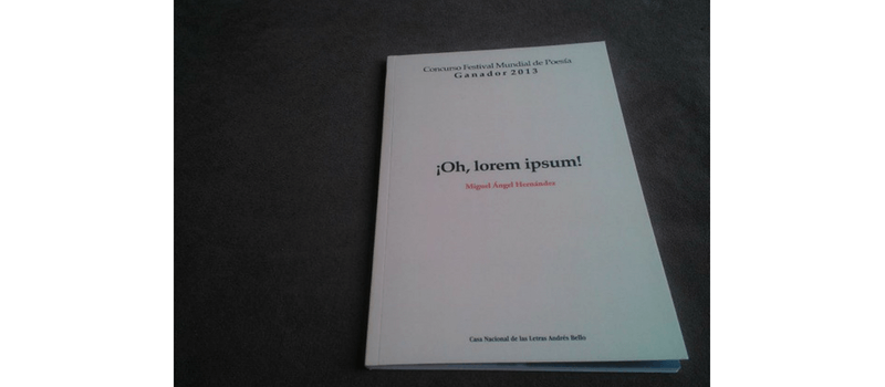 Libro de Miguel Ángel Hernández