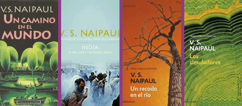 Libro de V.S.Naipaul