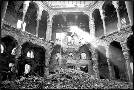 Biblioteca de Sarajevo. 24 de octubre. Día de la biblioteca
