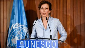 Directora Unesco.