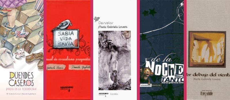 Libros María Gabriela Lovera