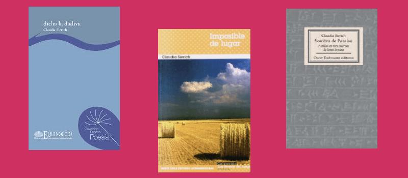 Libros Claudia Sierich