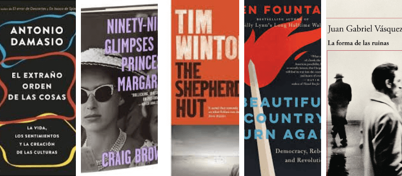 Los libros favoritos de Sting