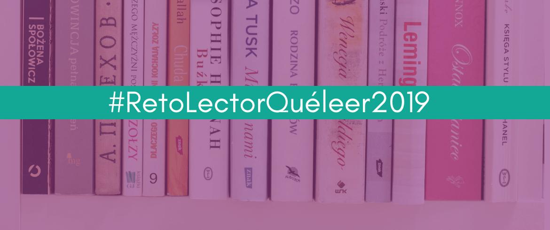 #RetoLectorQuéleer2019