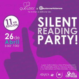 QuéLeer celebra el Día del Libro. #SilentReadingPartyCcs