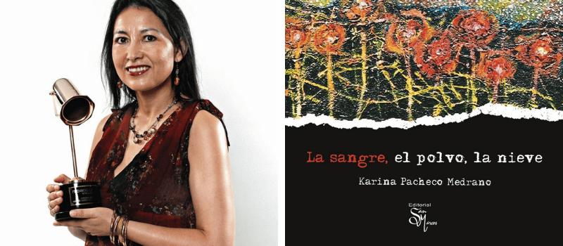 Karina Pacheco Medrano . Leamos Escritores Peruanos