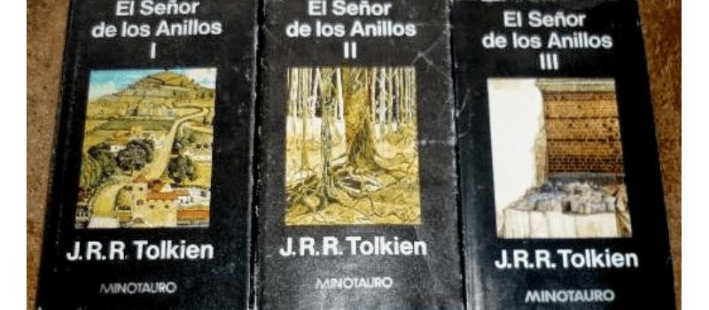 El señor de los anillos primera edición en español