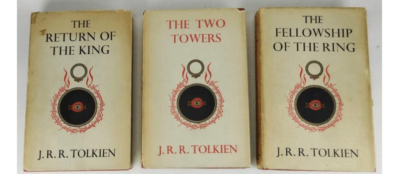 El señor de los anillos primera edición