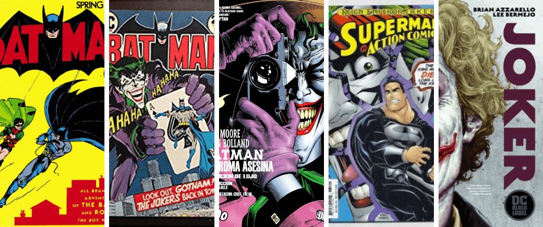 El Joker a través de 5 comics