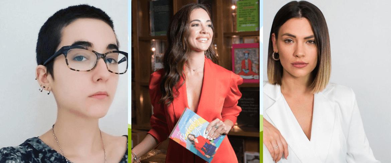 Tres venezolanas exitosas por la literatura