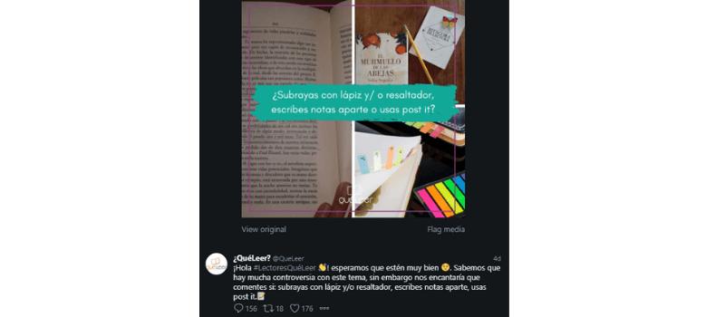Tuit subrayas con lápiz yo resaltador, escribes notas aparte, usas post it.