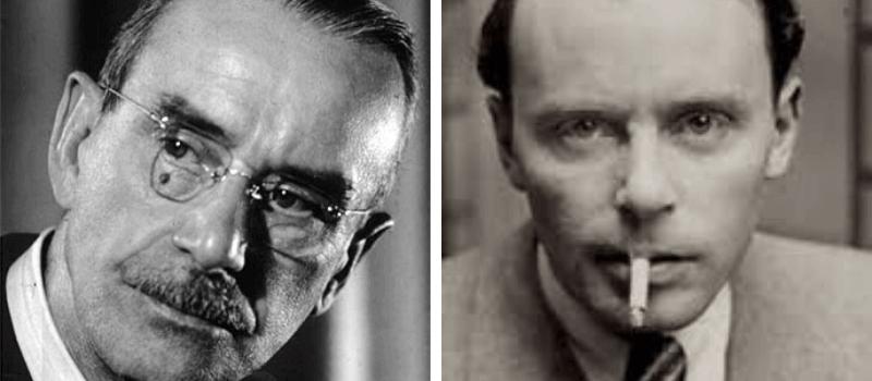 Thomas Mann y Klaus Mann