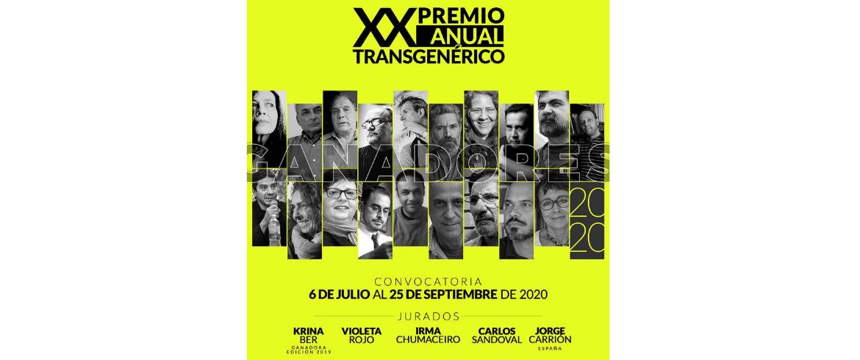 20 años del Premio Anual Transgenérico Fundación para la Cultura Urbana