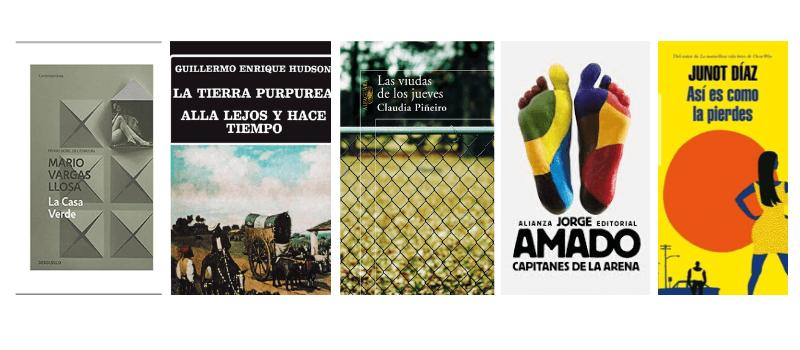 Novelas latinoamericanas que te llevarán allí