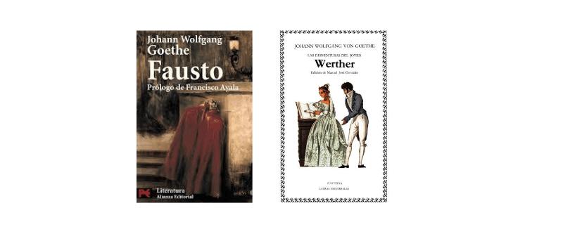 Libros de Goethe