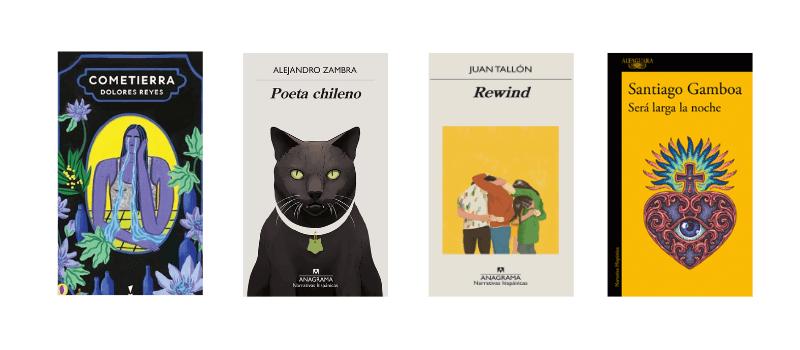 Finalistas de la IV Bienal de Novela Vargas Llosa