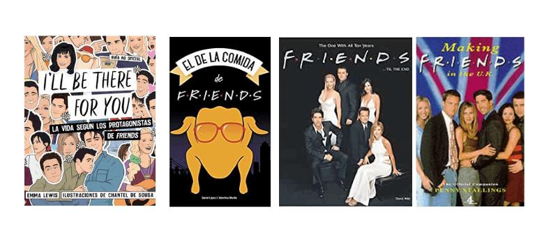 Libros que hablan de Friends I