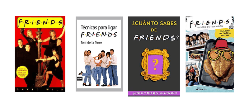 Libros que hablan de Friends II